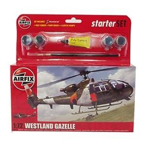 Westland Gazelle, Assembly Kit, scale 1:72 by Airfix