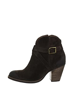 Buffalo London ES 30106 SUEDE 136377 - Botines fashion de cuero para mujer (Marrón)