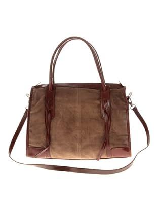 Elysa Bowling Bag (Taupe)