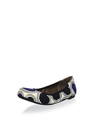 MARNI Women's Rings Ballet Flat (Bluette)