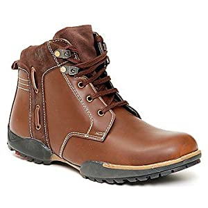 Bacca Bucci Brown Men Boots - 4900-pkt