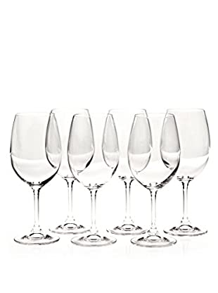Martin Berasategui Set De 6 Copas De Vino Cristal De Bohemia 450 Cl.