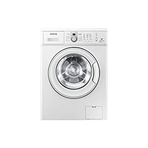 Classic White Front Loading Samsung Washing Machine - 6 Kgs Weight & Model Number WF1600NCW / TL