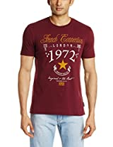 French Connection Men's Crew Neck Cotton T-Shirt