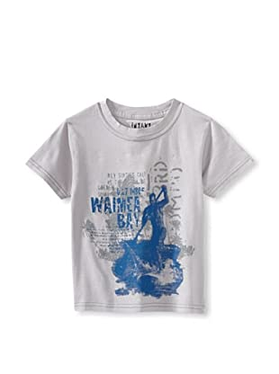 iNTAKT Boy's Paddleboarder Tee (Grey)