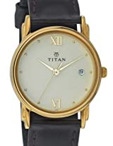 Titan Karishma Analog Off-white Dial Men's Watch - NE1445YL02