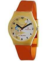 Maxima Analog White Dial Children's Watch - 04420PPKW