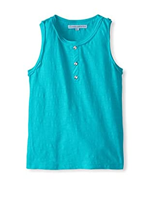 Cupcakes & Pastries Girl's Tank with Crystal Buttons