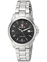 Swiss Military by R Women's 54006 3 N Alpha Analog Display Swiss Quartz Silver Watch