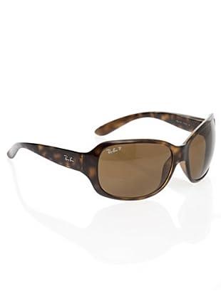 Ray Ban Sonnenbrille RB 4118 braun