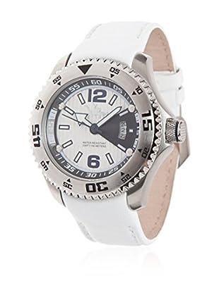 Vip Time Italy Uhr mit Japanischem Quarzuhrwerk VP5064WH_WH weiß 44  mm