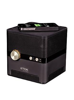 TDK Altavoz Q35 - Sound Cube Charging Speakercube Negro