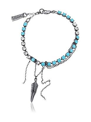 Zoë Kravitz for Swarovski Crystallized™ Armband Sierra blau