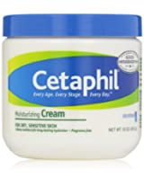 Cetaphil Fragrance Free Moisturizing Cream 16-Ounce Jars (Pack of 2)