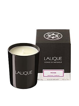 Lalique Rose 6.7-Oz. Candle, Black