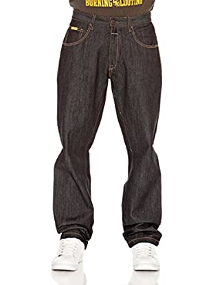 Grimey Wear Jeans Revenge (Negro)