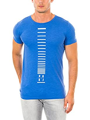 883 Police T-Shirt Manica Corta Vertical Logo