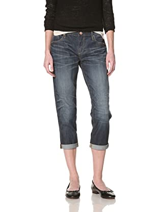 Driftwood Women's Boyfriend Jean (Medium blue)