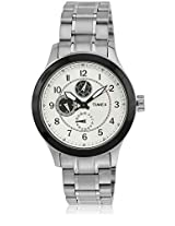 J500 Silver/Silver Analog Watch Timex