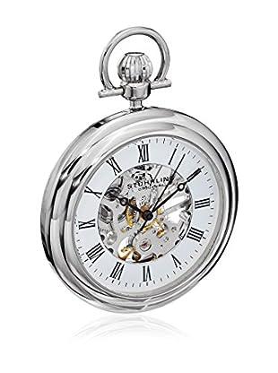 Stührling Original Uhr mit schweizer Mechanikuhrwerk Man Vintage 6053.33113 Silber