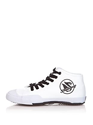 Shulong Zapatillas Shustreet High (Blanco / Negro)