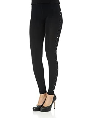 Free for Humanity Leggings CL Argt (Schwarz)