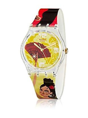 Swatch Quarzuhr Ritmo Desenfrenado GE101  34 mm