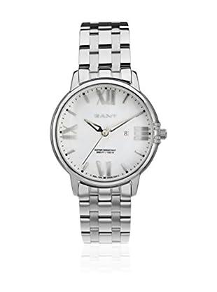 Gant Reloj con movimiento cuarzo japonés Brighton W10864 Plateado 38 mm