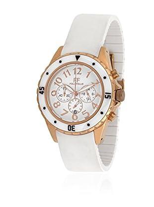 Folli Follie Uhr mit Miyota Uhrwerk WF8R031ZEW weiß 39 mm