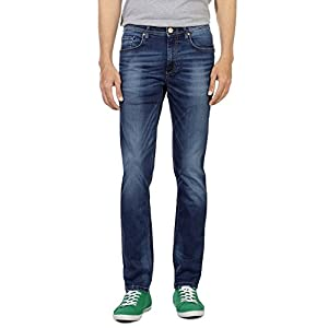 Ultra Slim Fit Mid Wash Jeans