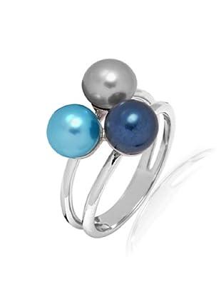 Pure Pearls Ring Sterling Silber Süßwasser-Zuchtperlen