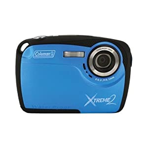 COLEMAN C12WP-BL 16.0 Megapixel Xtreme2 HD Underwater Digital Camera (Blue)