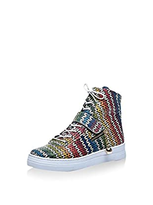 Los Ojo Hightop Sneaker Bella