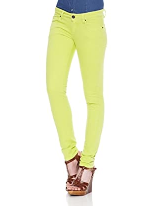 Carrera Jeans Pantalón Color Stretch Skinny (Lima)