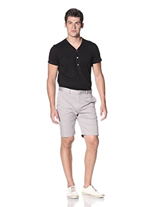Slate & Stone Men's Buio Flat-Front Short (Grey)