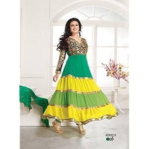 Ayesha Takia Fashionable Emroidered Anarkali Suit