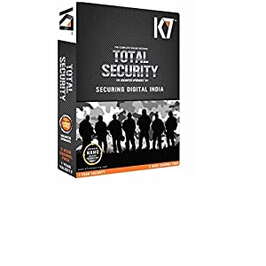 K7 Total Security 1 PC 1 Year (CD) (Old Edition)