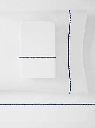 Peacock Alley Sateen Vieira Sheet Set (Dark Blue)