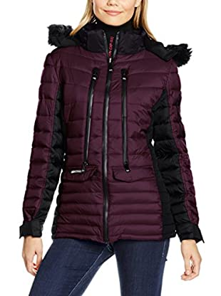 Geographical Norway Abrigo Doudoune Lady Purple