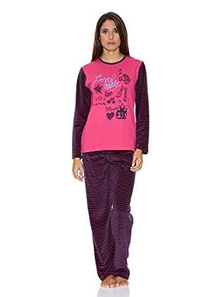 Asman Pijama Señora (Fucsia)