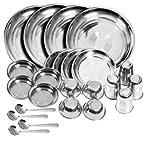 Set of 24 Vox Stainless Steel Dinner Set KP-SS1101