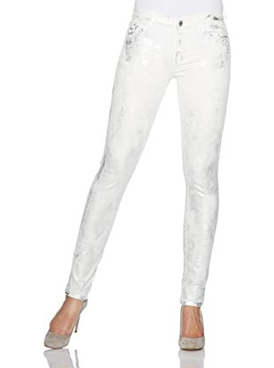 7 for all mankind Jeans The Skinny (sprayed silver denim)