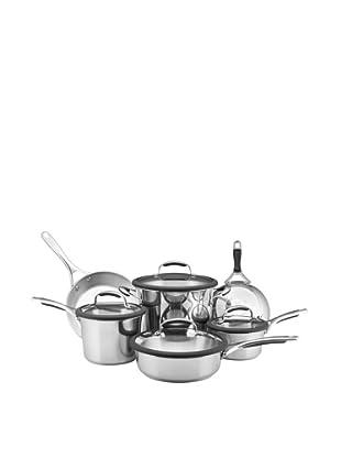 KitchenAid Gourmet Stainless Steel 10-Piece Cookware Set