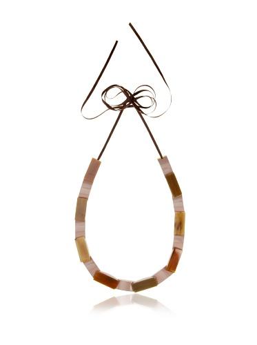 MARNI Women's Sand Storm Alternating Bead Necklace