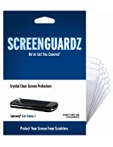 ScreenGuardz Ultra-Slim Screen Protector 5 Pack for Samsung Epic Galaxy S - Transparent