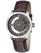 Stuhrling Original Analog Grey Dial Men's Watch - 650.03