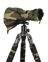 LensCoat LCRSMFG RainCoat RS for Camera and Lens, Medium (Forest Green Camo)