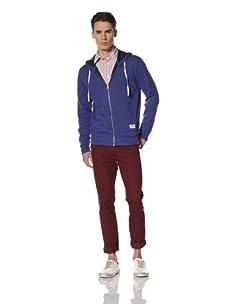 Benson Men's Full Zip Hoodie (Cobalt)
