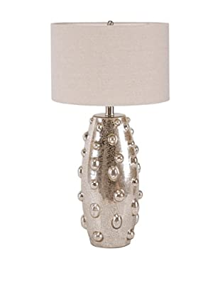 Devereaux Table Lamp (Silver/Natural)