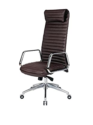 MaxMod Ox Office Chair High Back, Dark Brown